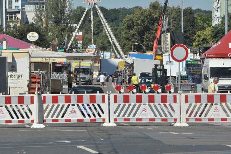 Chemnitzer Innenstadt dicht! Zahlreiche Sperrungen zum Stadtfest
