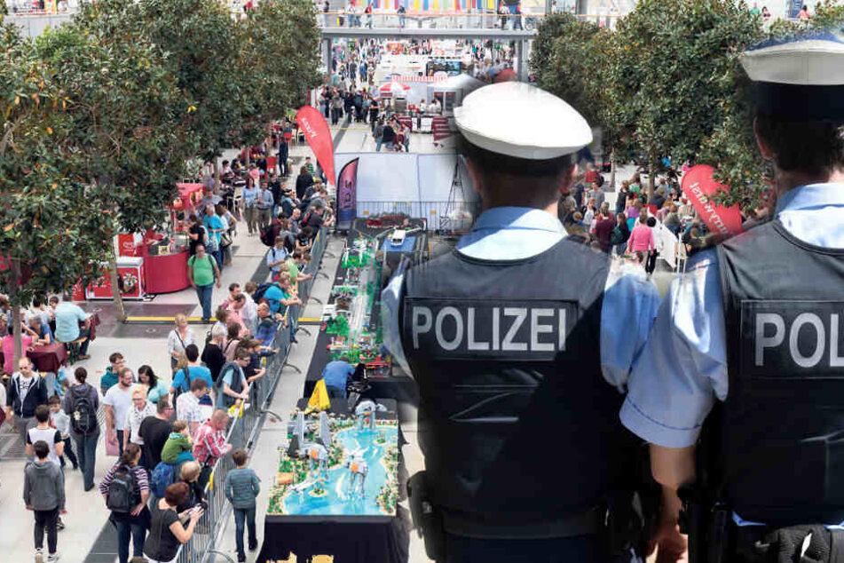 Was macht die Bundespolizei auf der Leipziger Hobbymesse?