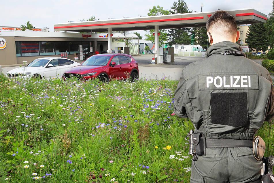 Dresden: Drei Männer wollen 23-Jährige an Tankstelle in Gorbitz vergewaltigen