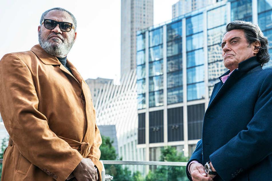 Sind sie weiter auf John Wicks Seite? Der Bowery King (l., Laurence Fishburne) und Winston (Ian McShane).