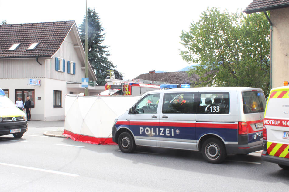 Die Besatzung dieses Streifenwagens rettete dem Kind das Leben.