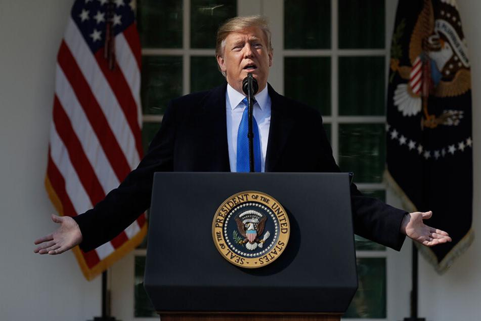 Donald Trump, Präsident der USA, hat im Wahlkampf versprochen, eine Mauer an der Grenze zu Mexiko zu errichten.