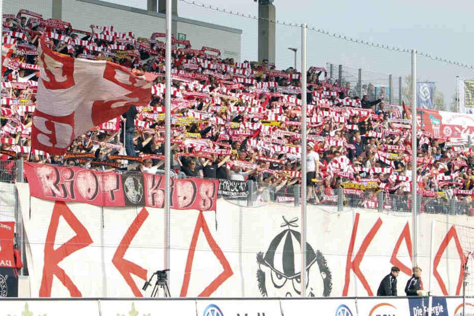 Das Heimspiel des FSV Zwickau gegen Karlsruhe musste verlegt werden.