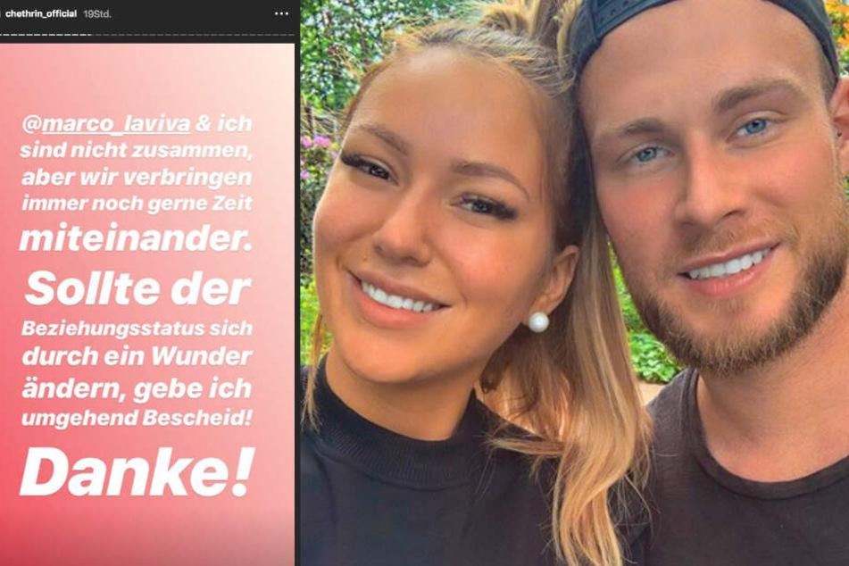 Werden Chethrin Schulze und Marco Mirwald wieder ein Paar?