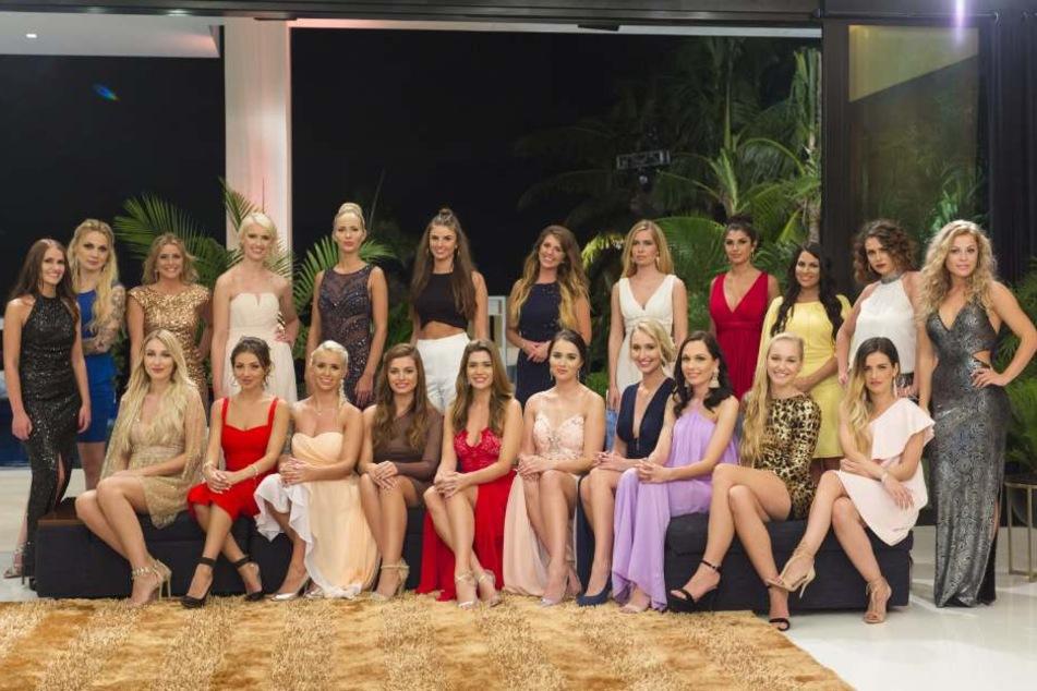 Insgesamt schafften es 22 Frauen nach Miami, um den Bachelor kennenzulernen.