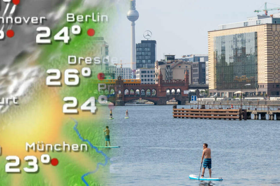 Wetter in Berlin und Brandenburg: War's das mit dem Sommer?