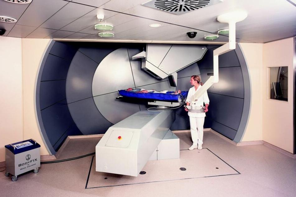 Ein Bild aus München im Jahr 2009, als Krebspatienten das erste Mal dort mit der Therapie behandelt wurden.