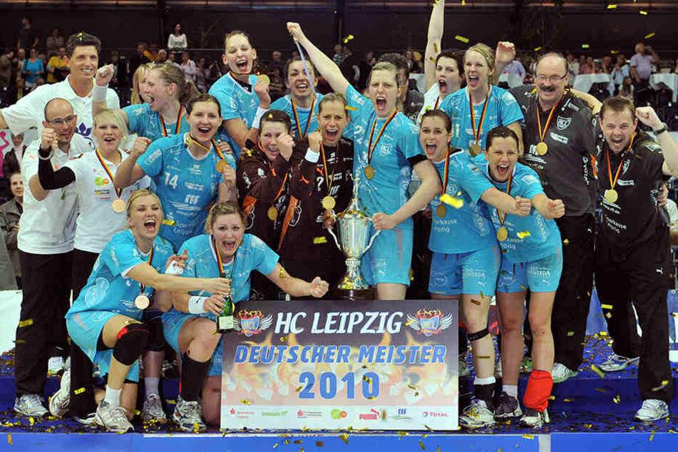 2010 gewann die Mannschaft den Deutschen Meistertitel im Handball der Frauen, damals noch unter Trainer Heine Jensen.