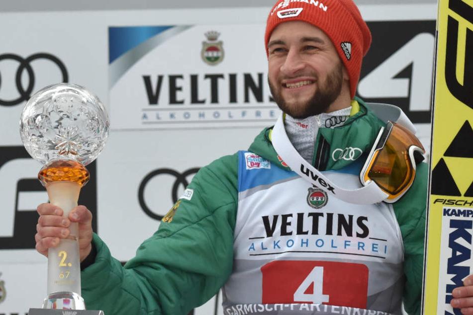 Markus Eisenbichler liefert bei der Vierschanzentournee bislang starke Resultate ab.