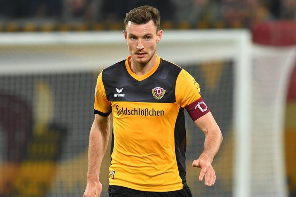 Florian Ballas soll weiter eine wichtige Stütze bei Dynamo bleiben.