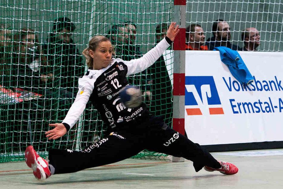 Bis vor zweieinhalb Wochen stand Kramarczyk (32) noch für den HCL im Tor, nun wird sie gegen ihre alte Mannschaft antreten.