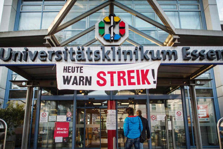 Der Marburger Bund fordert die über 6000 Ärzte an den sechs Universitätskliniken in Aachen, Bonn, Düsseldorf, Essen, Köln und Münster zum eintägigen Warnstreik am 4. Februar auf.