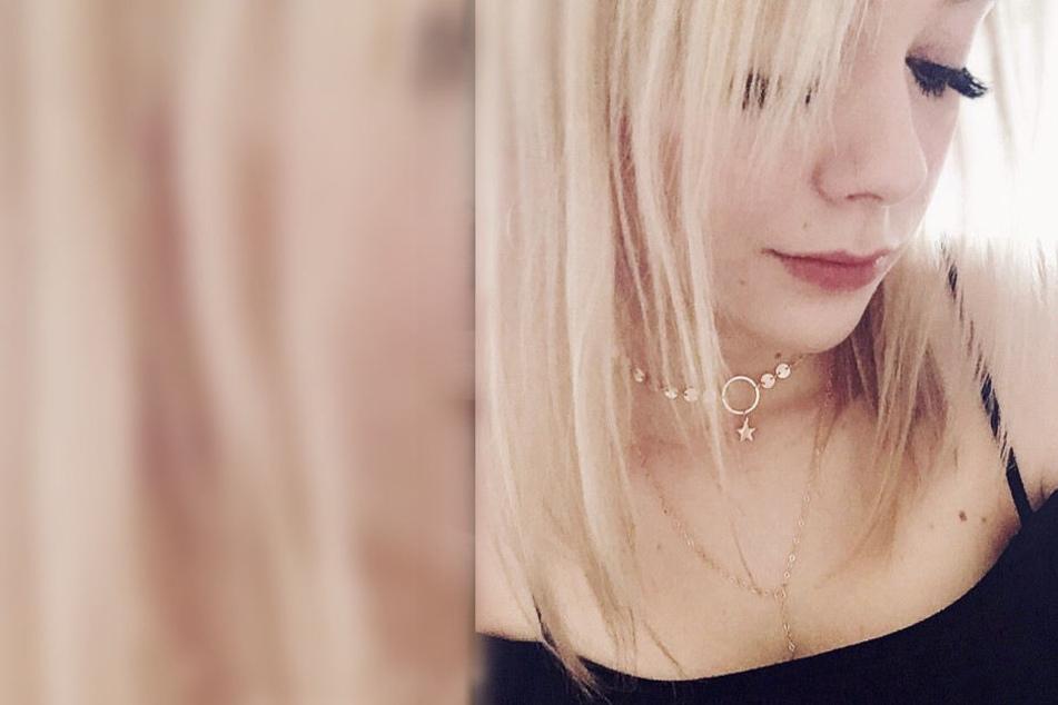 Anne Wünsche forderte ihre Fans bei diesem Bild dazu auf Blondinenwitze zu posten.
