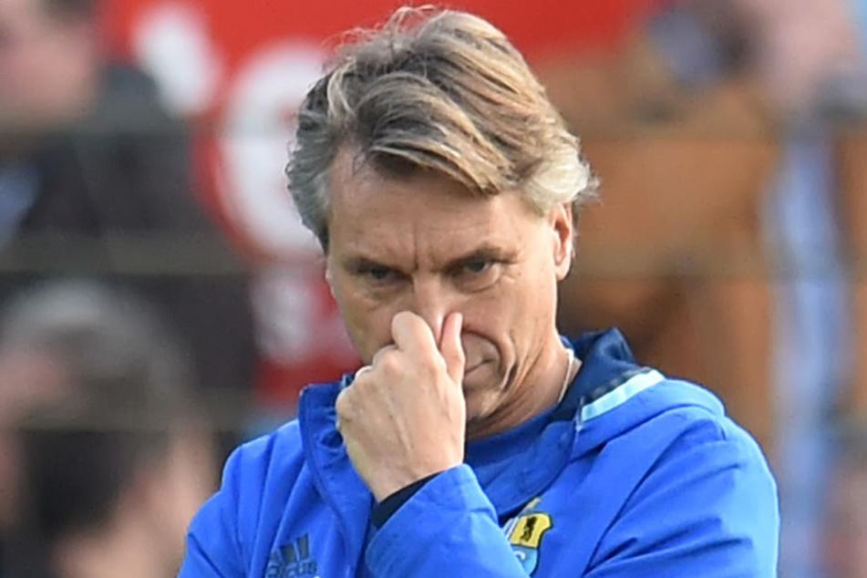 Trainer Horst Steffen vertraute zuletzt einem festen Spielerstamm - das zahlte sich allerdings nur bedingt aus. Denkt Steffen in der Länderspielpause über Änderungen nach?