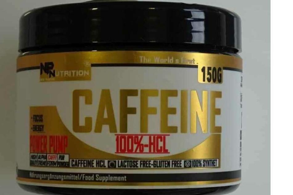 """Rückruf: Das Produkt """"np nutrition Caffeine 100%-HCL"""" des Herstellers New Pharma Nutrition sollte nicht verwendet werden."""