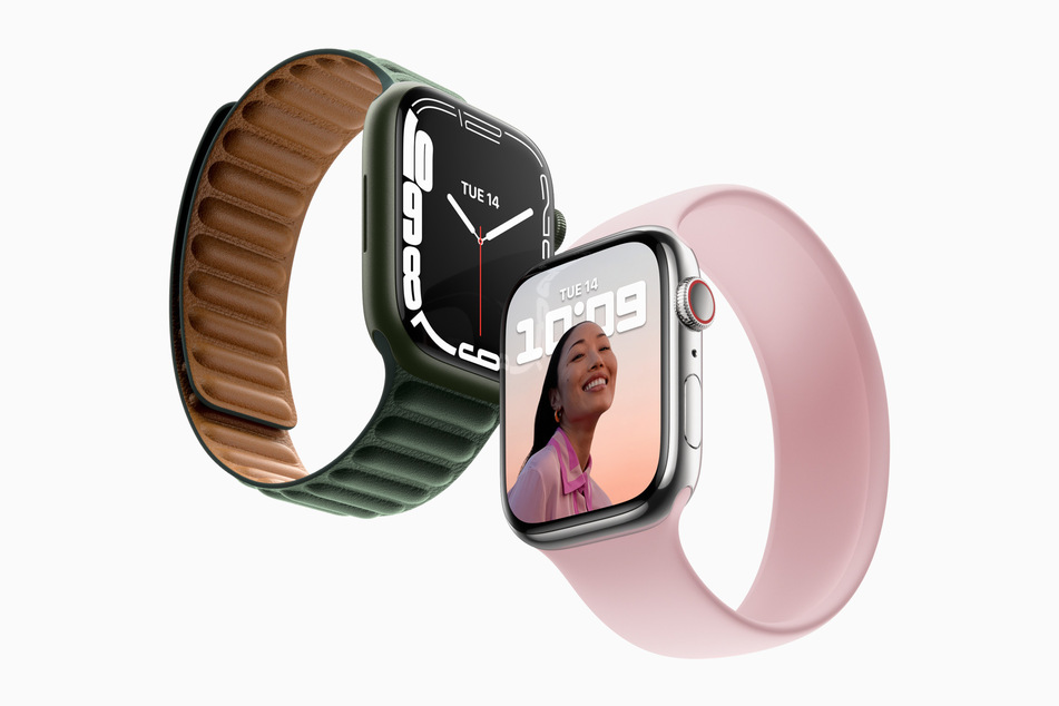 So sieht die neue Apple Watch in der 7. Generation aus.