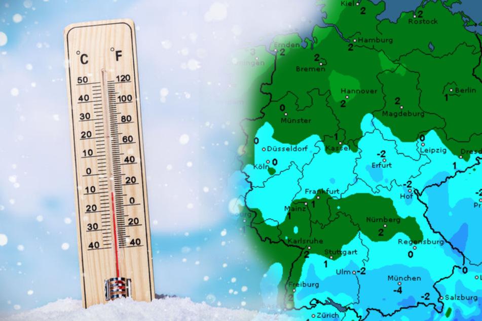 Wetter in Deutschland: Jetzt kommt die Eiseskälte zu uns
