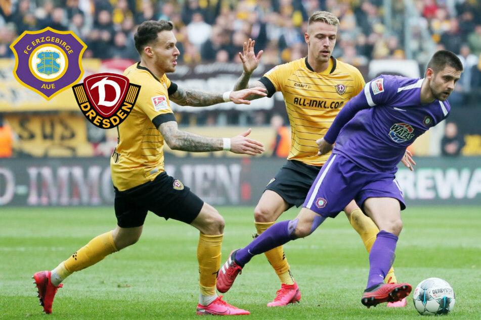 Testspiel-Knüller: Erzgebirge Aue fordert Dynamo
