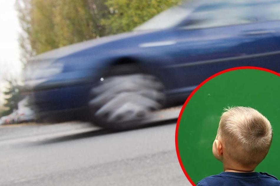 Der Junge hatte hinter dem Auto gestanden und geriet unter das Fahrzeug! (Symbolbild)