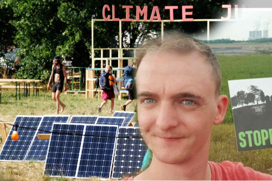 Wahlkampf-Werbung beim Klimacamp? Leipziger Böhme sauer auf Sachsens Grüne
