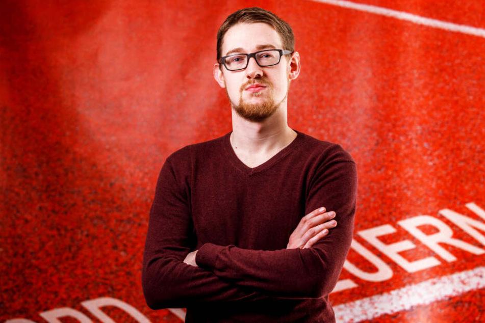 Macht sich stark für mehr öffentliche Sportplätze: Stefan Engel (27, SPD).