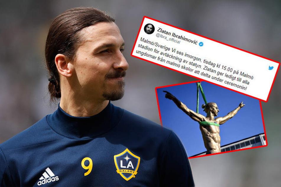 Schwänzen für König Zlatan: Ibrahimovic gibt Kindern aus skurrilem Grund schulfrei