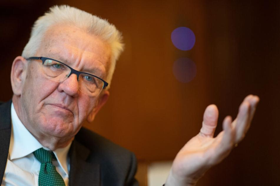 Ministerpräsident Winfried Kretschmann (Grüne) wird eine Ansprache halten und den Kranz niederlegen.