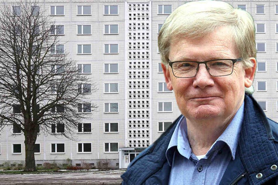 Bezahlbaren Wohnraum für Geringverdiener auch in ein paar Jahren fordert Linken-Stadtrat Dietmar Berger (65).