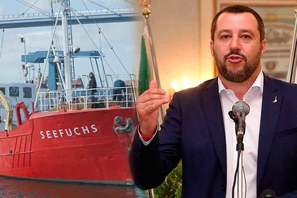 Flüchtlingsretter in Italien nicht mehr willkommen