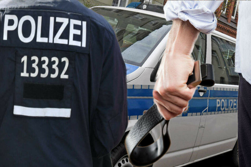 Die Polizei rückte mit sechs Wagen an, um das Duo festzunehmen. (Symbolbild)
