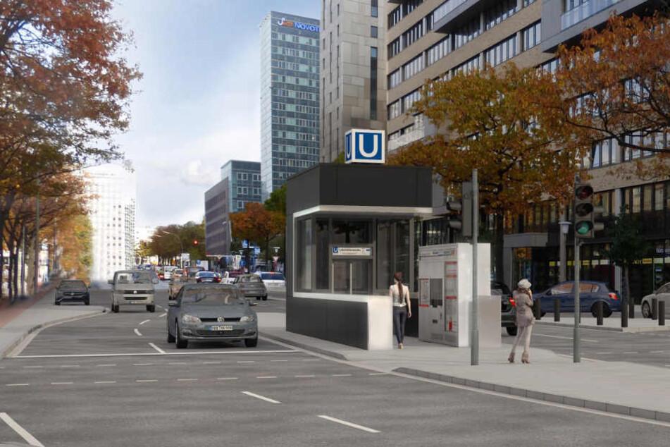 So soll die Lohmühlenstraße nach dem Umbau aussehen.
