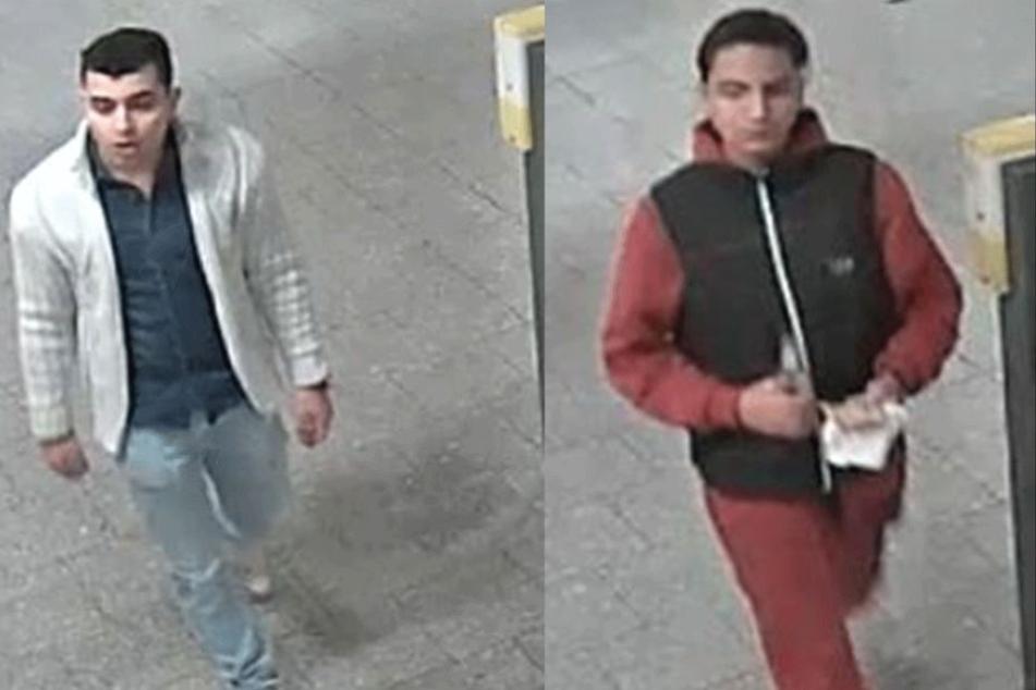 Angriff am U-Bahnhof Polizei sucht mit Fotos nach U-Bahn-Schlägern