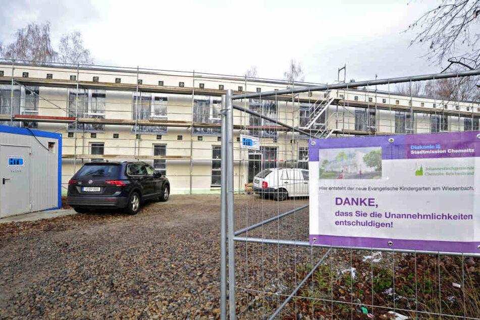 Die Stadtmission baut einen evangelischen Kindergarten in Reichenbrand.