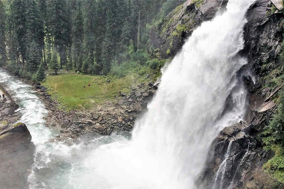 An den Krimmler Wasserfällen ist es zu einem tödlichen Unfall gekommen (Symbolbild)