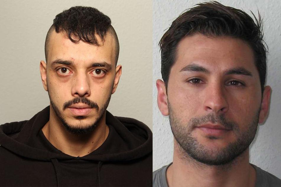 Sakher Alheter (l.) und Mohammad Alali werden jetzt öffentlich gesucht.
