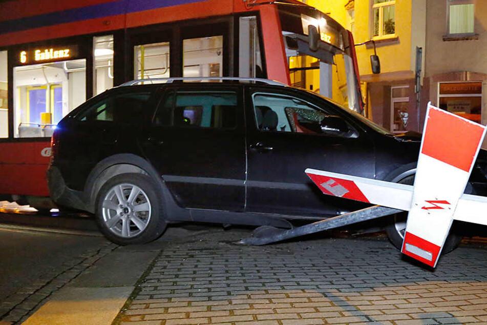 Straßenbahn-Fahrer sind selten an solchen Unfällen schuld.
