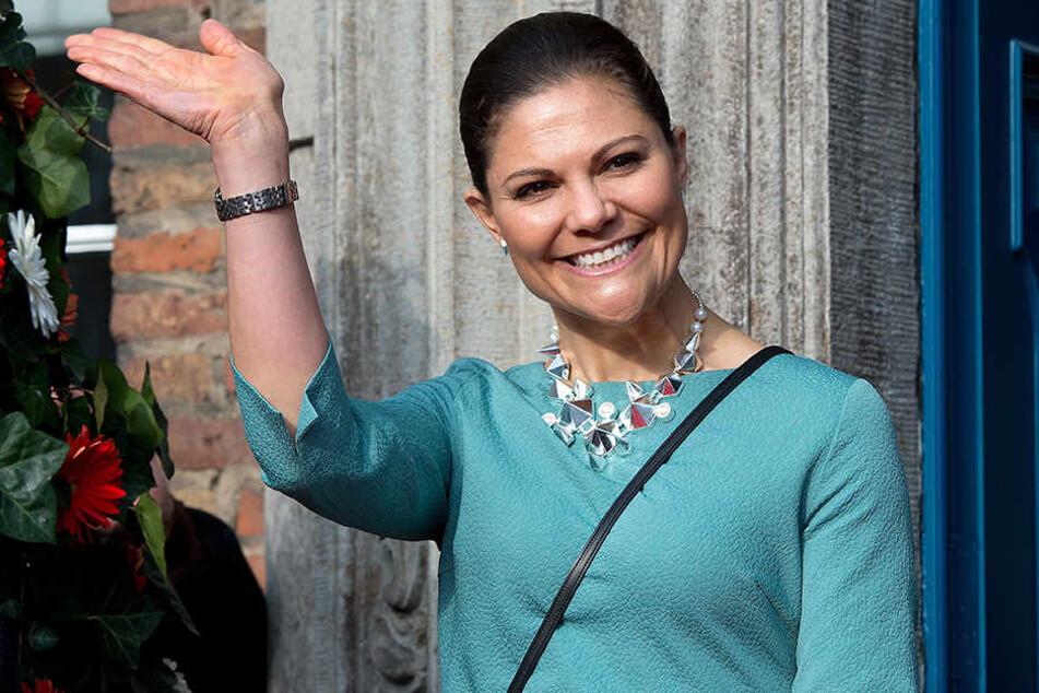 Schwedens Kronprinzessin Victoria in Leipzig erwartet