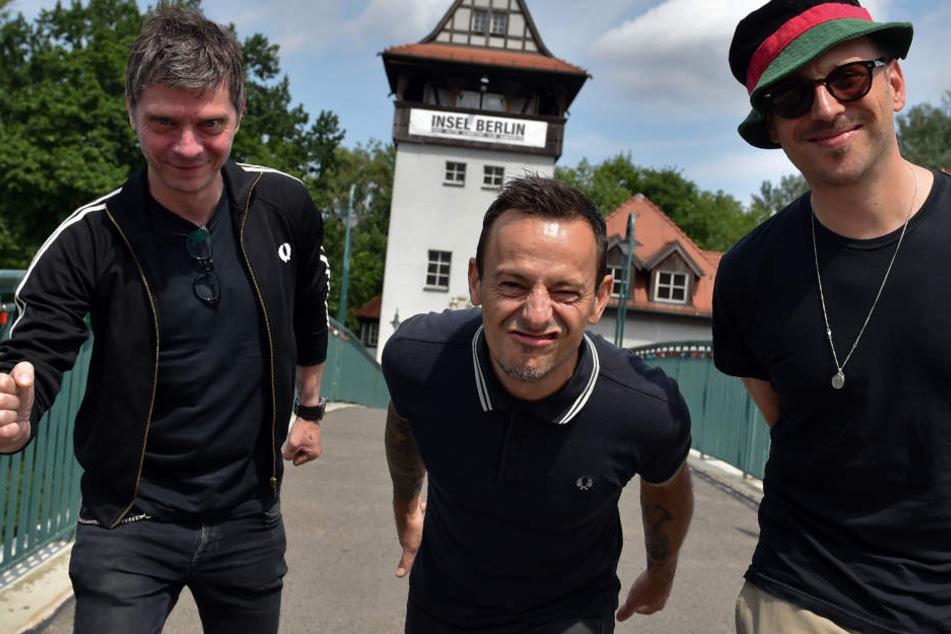 Bernd Kurtzke (links), Peter Baumann und Arnim Teutoburg-Weiß ergeben zusammen die Beatsteaks.
