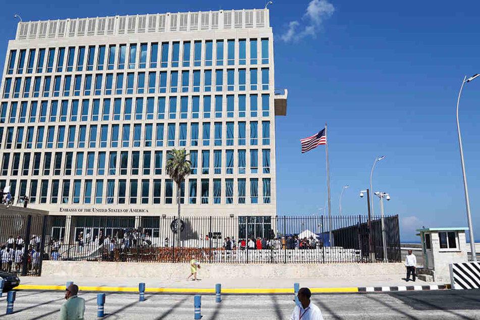 US-Botschaftspersonal auf Kuba wegen