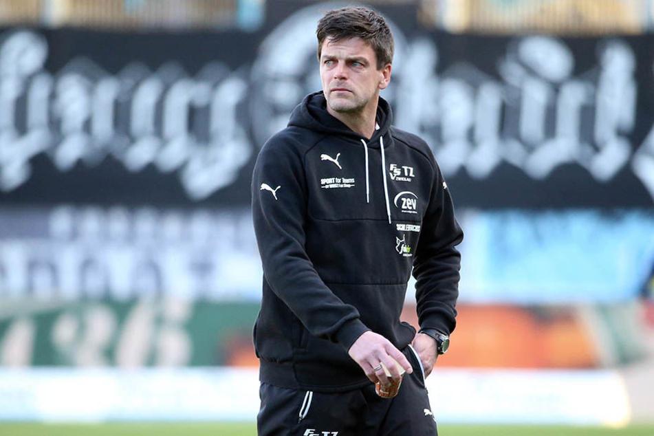 Zwickaus Trainer Torsten Ziegner hat Konzentrationsmängel ausgemacht.