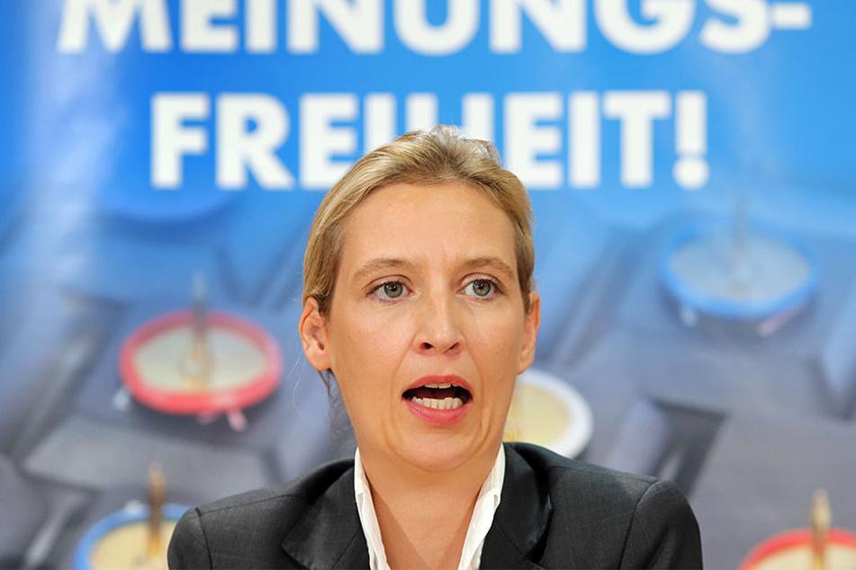 Eigentlich sollte AfD-Spitzenkandidatin Alice Weidel schon in Gütersloh ein Pressegespräch führen. Daraus wurde allerdings nichts, weil sie keine Räumlichkeiten fand.