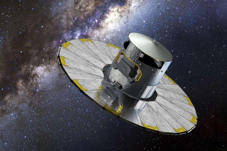 """Das Weltraumteleskopes """"Gaia"""" hat das schwarze Loch entdeckt."""