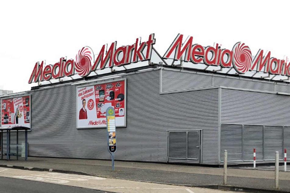 Der MediaMarkt Mainz an der Haifa-Allee 1.