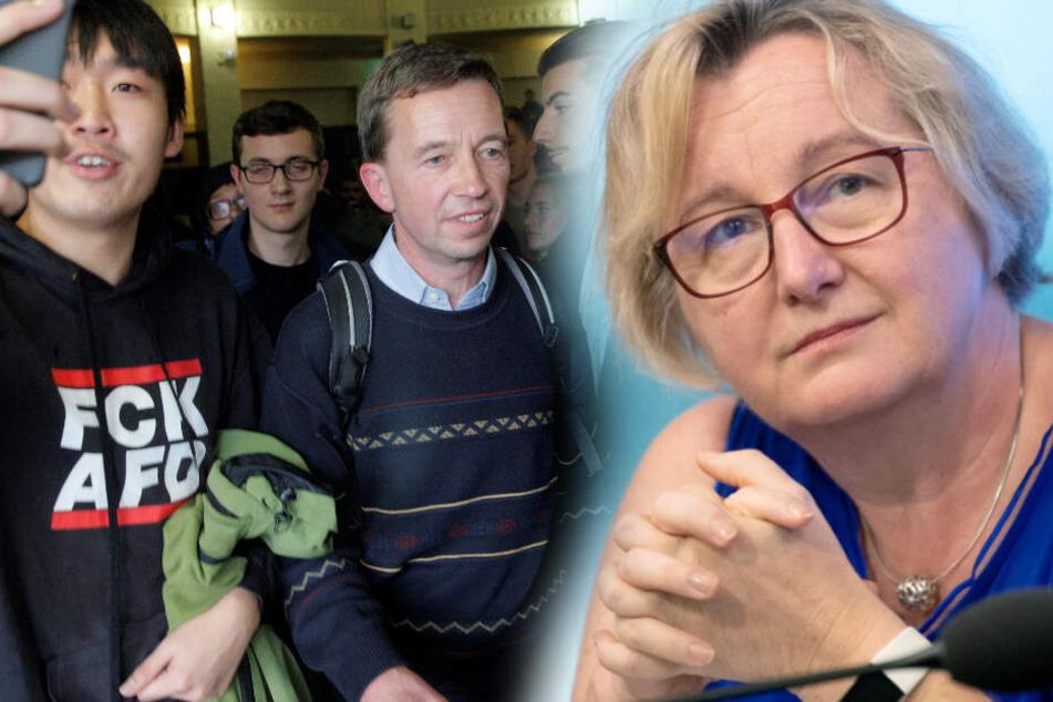 """""""Ist keinesfalls zu akzeptieren"""": Ministerin Bauer kritisiert Uni-Blockade von Bernd Lucke"""