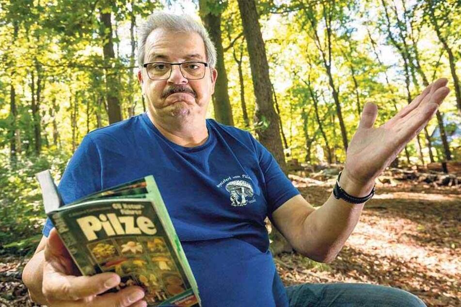Zu trocken! Kaum Pilze in Sachsens Wäldern