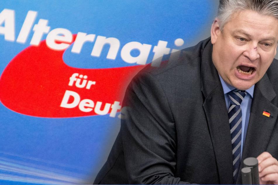 """AfD-Bundestagsabgeordneter Thomas Seitz verliert seinen Beamtenstatus wegen Äußerungen wie """"Quotenneger""""."""