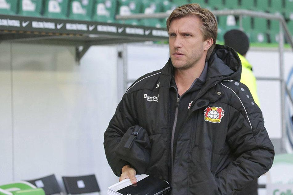 Auch der Ex-Paderborner Markus Krösche (36) muss Bayer 04 Leverkusen verlassen.