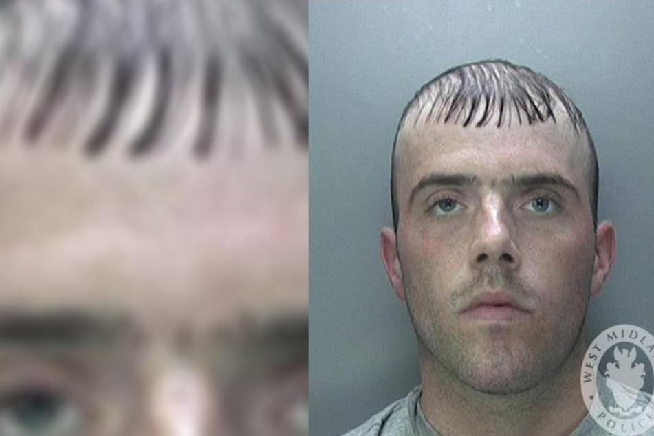Der Mugshot dieses Mannes ging im Netz viral.