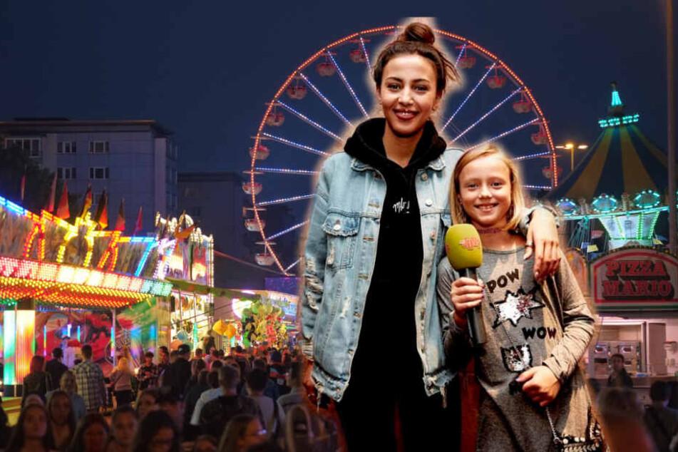Beim Stadtfest traf Marie (8) ihren Liebling Namika