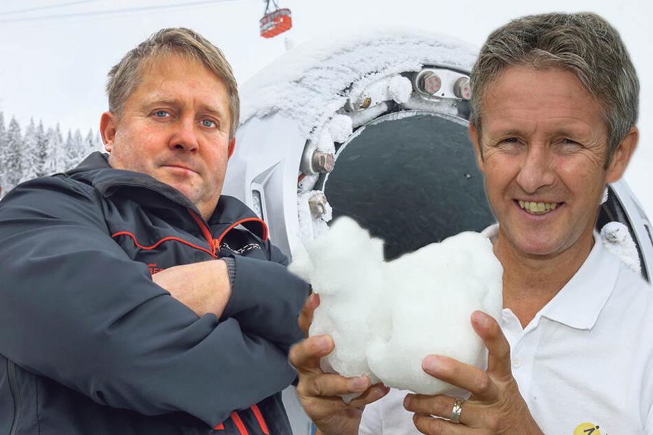 Wintergaudi abgesagt: War's das mit dem Schnee in Zinnowitz?